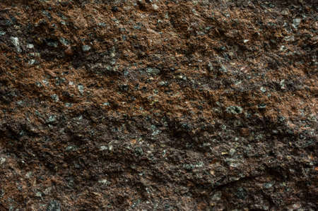 lithic: Brown stone with cracks on the surface texture Stock Photo