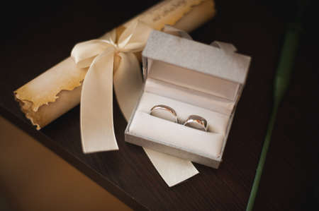 engaging: an image of engaging rings in a white box