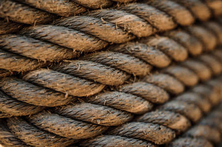 texture twisted: grunge twisted rope texture tie up the pole horizontal