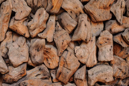 wood chip: Closeup of wood chip path covering. Suitable for backgrounds or fills. texture