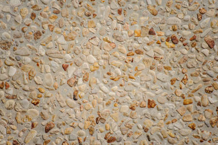 aggregate: exposed aggregate concrete texture background beige stone