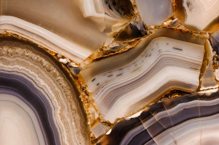 Piece of polished agate texture  horizontal texture