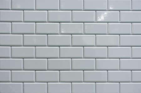 tiled wall: MODERN WHITE TILE TILING HORIZONTAL  TEXTURE BACKGROUND