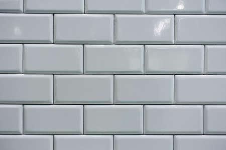 MODERN WHITE TILE TILING HORIZONTAL  TEXTURE BACKGROUND