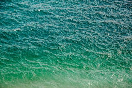 Fantastic blue sea background. Pure water. Crimea