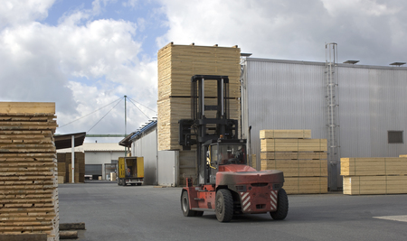 Lumber industry - transport finished boards