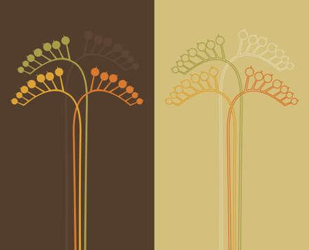 Flor abstracta  Vectores