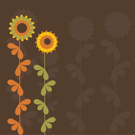 Flor abstracto Vectores