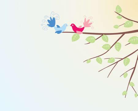 affairs: Bird Illustration