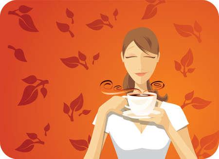 Black Tea Vector