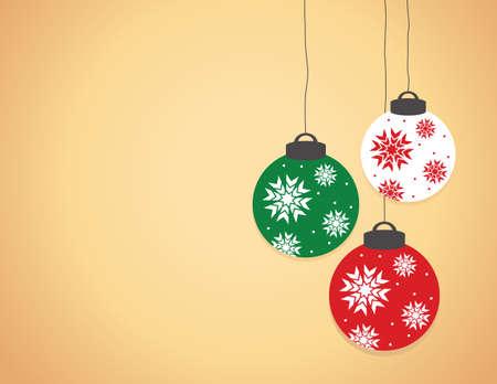 Bolas de Navidad  Vectores
