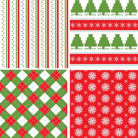 wrapping animal: Christmas seamless pattern Illustration