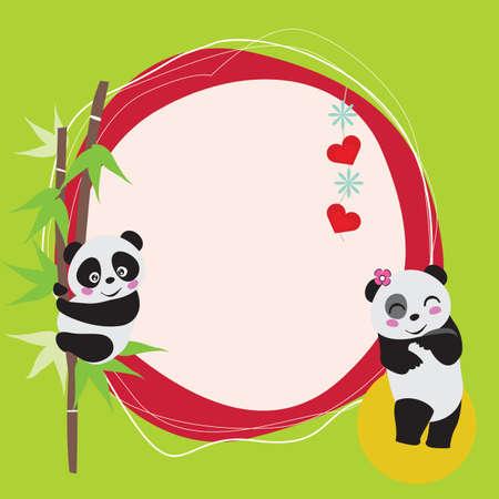 love at first sight: Panda Love