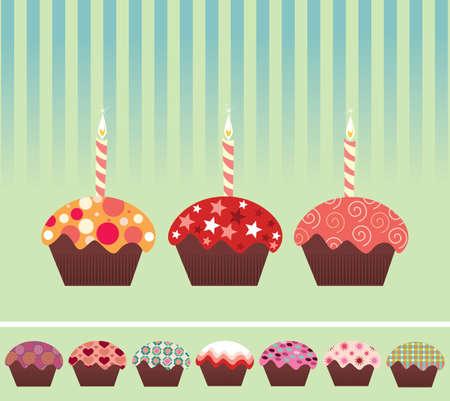 Cupcakes Stock Vector - 5960094