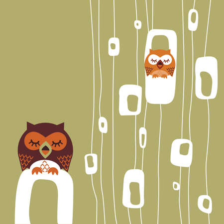 Owl Stock Vector - 5957062