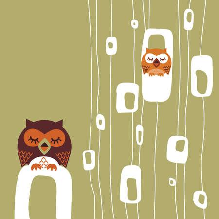 Owl Stock Vector - 5957062