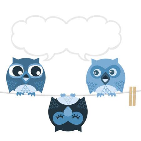Owl Stock Vector - 5957082