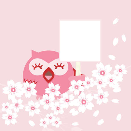 post card: Owl Illustration