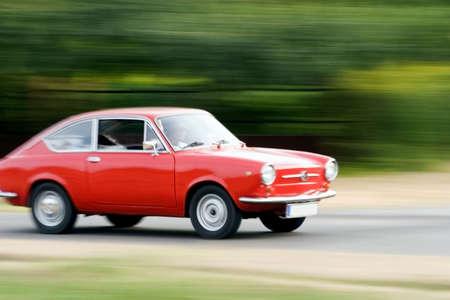 fiat: Red Car