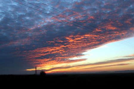 Sunset sky Stock Photo - 2100206