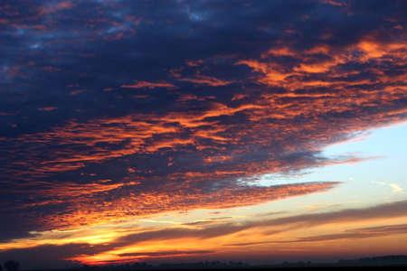 Sunset sky photo