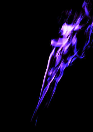 blend: Abstract color composition smoke photo