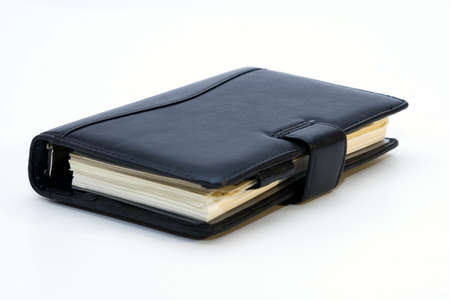 appointment book: Notebook isolated on a white background Stock Photo