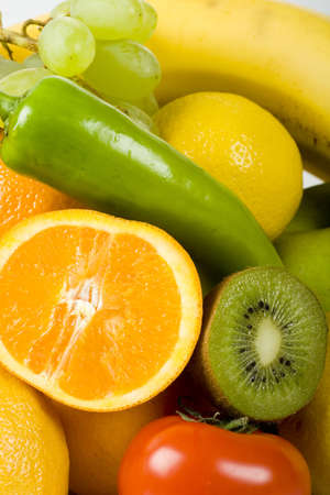 Fresh Vegetables, Fruits and other foodstuffs Stock Photo - 2873538