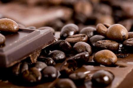 Chocolate-Coffee background
