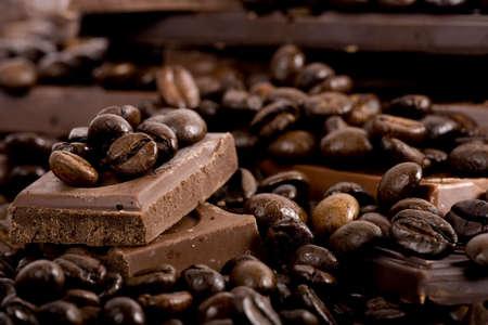 liveliness: Chocolate-Coffee background