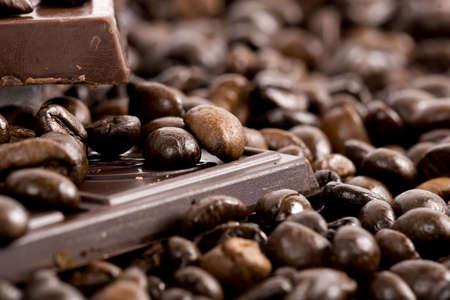 Chocolate-Coffee background photo
