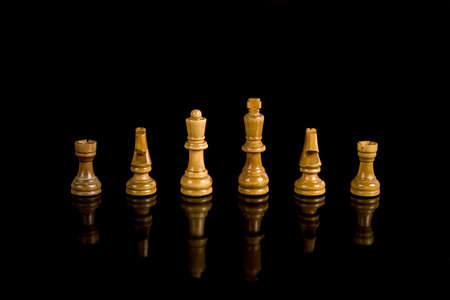 Chess composition Stock Photo - 3058838