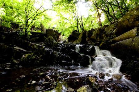 murmur: Waterfall and rocks