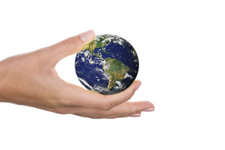 world in hands Stock Photo - 3347453