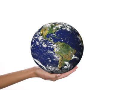 world in hands Stock Photo - 3347496