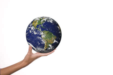 world in hands Stock Photo - 3347451