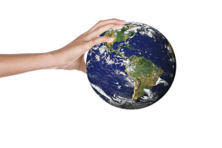 world in hands Stock Photo - 3347498