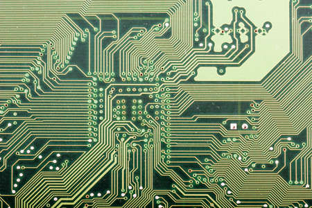 conductivity: deep blu background with motherboards electronic circuit