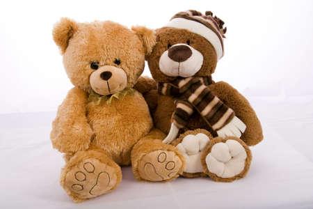 cuteness: teddybear isolated on white background