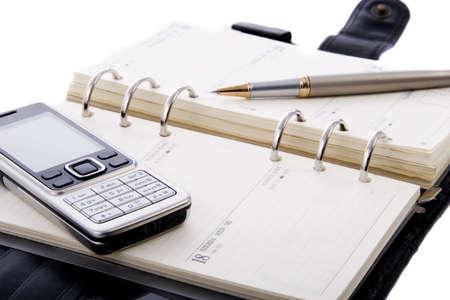 Ordinateur portable isolé sur un fond blanc Banque d'images