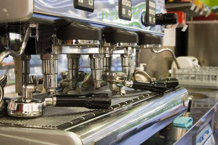 Espresso machine photo