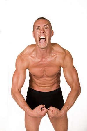Muscular male Stock Photo - 4529270