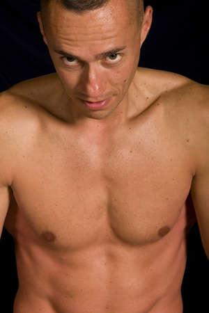 Muscular male Stock Photo - 4529404