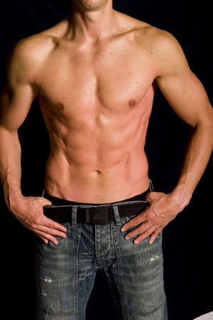Muscular male Stock Photo - 4529685