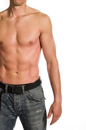 Muscular male Stock Photo - 4529505