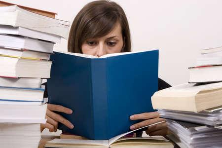 studying girl Stock Photo - 4760436
