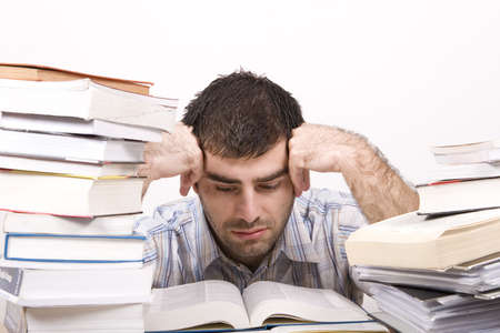 studying man Stock Photo - 4760434