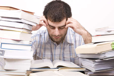 studying man Stock Photo - 4760133