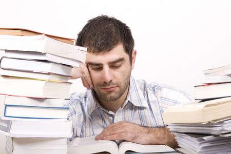 studying man Stock Photo - 4760594