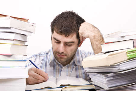 studying man Stock Photo - 4760128